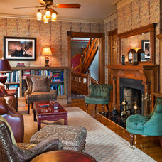 Traditional Family Room by Tom Crane Photography, Inc.