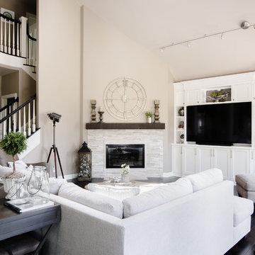 Echo Falls Home - Family Room