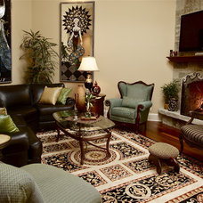 Eclectic Family Room Eclectic Family Room