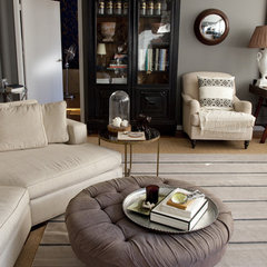 eclectic family room by Lexi Tallisman