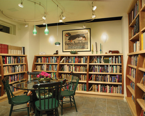Basement Library Home Design Ideas Pictures Remodel And