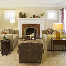 Eclectic Family Room by Niche Interiors