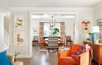 Houzz Tour: Colorful and Pattern-Happy in California