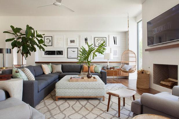 Maritim Wohnzimmer by Brittany Stiles Design