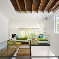 Contemporary Family Room by Pal + Smith