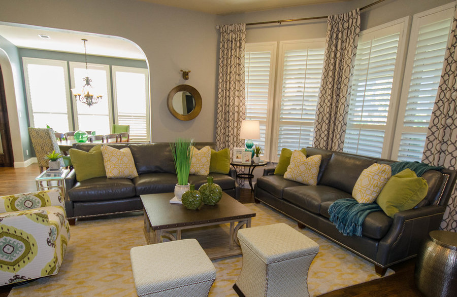 Eclectic Transitional Ranch Style House
