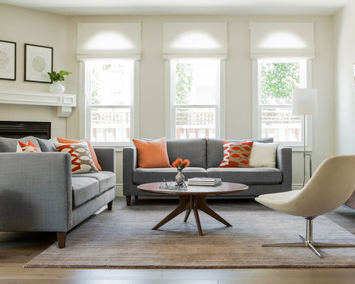 Grey And Orange Ideas Pictures Remodel And Decor
