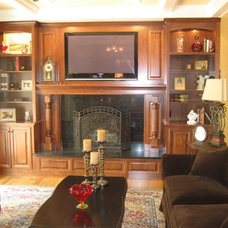 Traditional Family Room by Rene Products