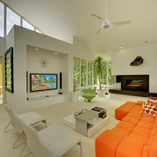 Contemporary Family Room by Spacecrafting / Architectural Photography