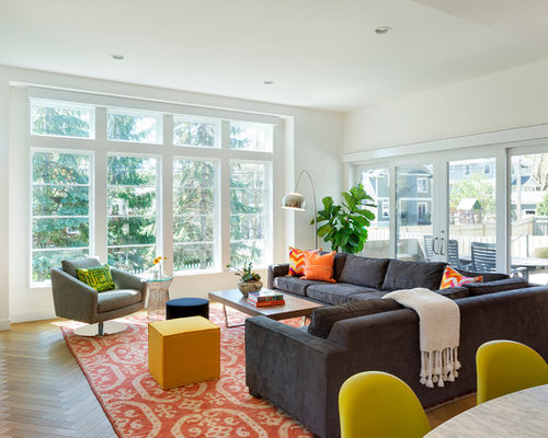 Midcentury Family Room Design Ideas Remodels Amp Photos Houzz