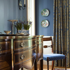 Traditional Dining Room by Edwina Drummond Interiors