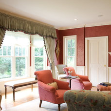 Traditional Living Room by Edwina Drummond Interiors