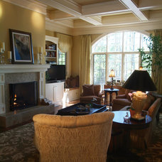 Traditional Family Room by McSpadden Custom Homes
