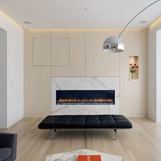 Modern Family Room by WNT DESIGN