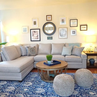 Family room - transitional family room idea in Baltimore
