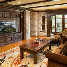 Traditional Family Room by Kyle Hunt & Partners, Incorporated