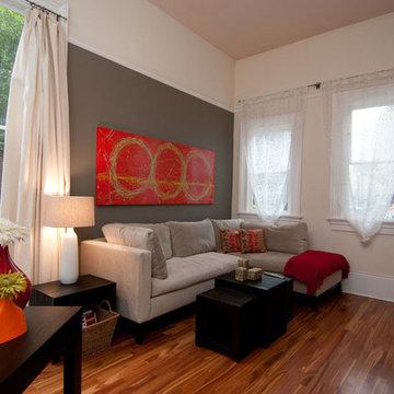 Elegant Historical Condominium Family Room