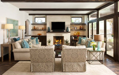 Houzz Tour: 'New Traditional' Family Home in Texas