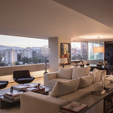 Contemporary Family Room by RHYZOMA - Arquitectura / Diseño