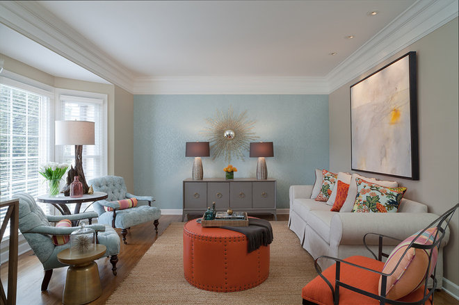Family Room by Beckwith Interiors