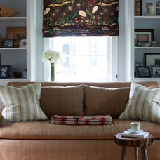 Traditional Family Room by Purple Bike Design