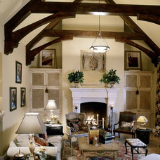 Traditional Family Room by Group 3