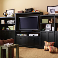 Traditional Family Room by Closet Classics of Andover