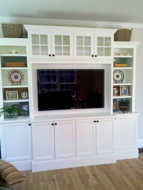 Small Entertainment Center Home Design Ideas, Pictures, Remodel and Decor