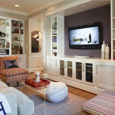 Modern Family Room by Greenfield Cabinetry (IL•WI•MN) American made