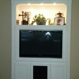 Entertainment Centers Built-in (Media Niches)