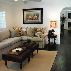 Traditional Family Room by Dave Lane Construction Co.