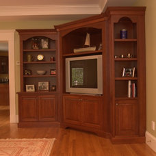 Traditional Family Room by Divine Design+Build