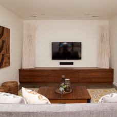 Modern Family Room by Whitney Lyons