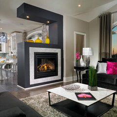 contemporary family room by My Design Studio