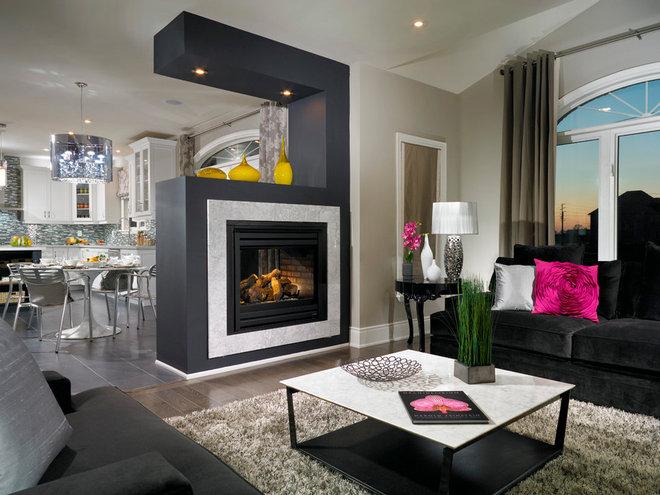 Contemporary Family Room by My Design Studio, Yasmine Goodwin