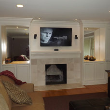 Family Room by Majestic Home Solutions LLC