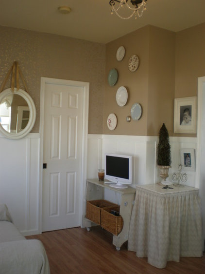 Traditional Family Room by From House to Home