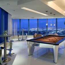 Contemporary Game Room And Bar Furniture by Mitchell * Exclusive Billiard Designs *