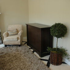 Traditional Family Room by TV Lift Cabinet by Cabinet Tronix