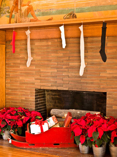 Klassisch Wohnzimmer Experience the Holidays at Frank Lloyd Wright's Home and Studio