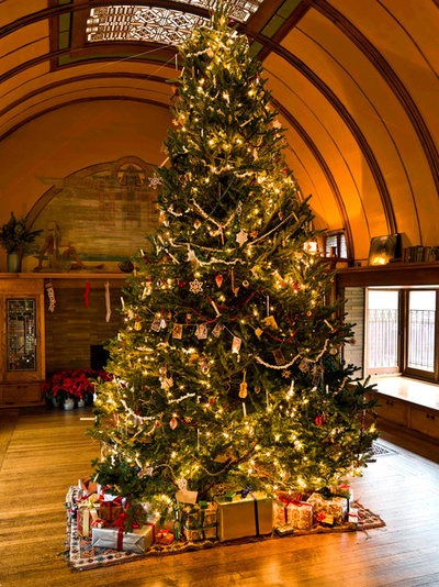 Traditional Family Room Experience the Holidays at Frank Lloyd Wright's Home and Studio