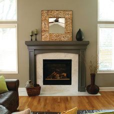 Traditional Family Room by Anna Berglin Design