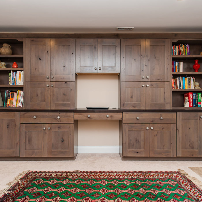 Fairfax Built-In Cabinetry & Workspace