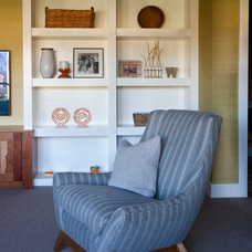 Traditional Family Room by R. Cartwright Design