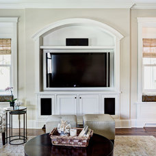 Traditional Family Room by Building Concepts and Design
