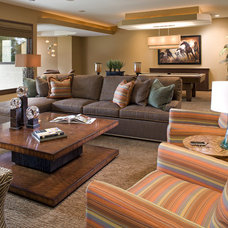 Contemporary Family Room by Eminent Interior Design