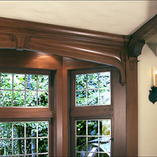 Traditional Family Room by Norman Orr Artist, Craftsman & Fine Woodworker