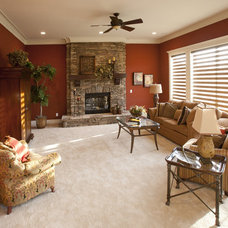 traditional family room by Transformed Interiors