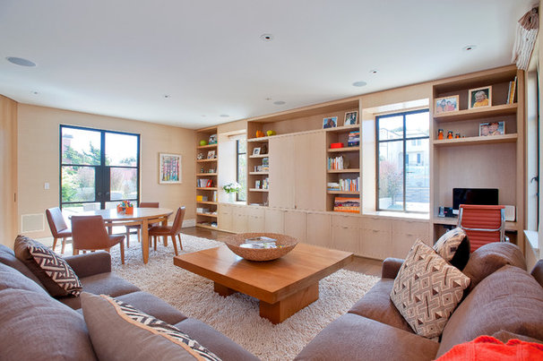 Contemporary Family Room by Butler Armsden Architects