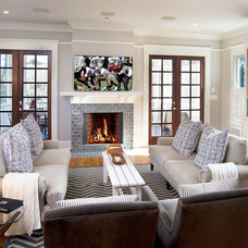 Traditional Family Room by Reform Architects